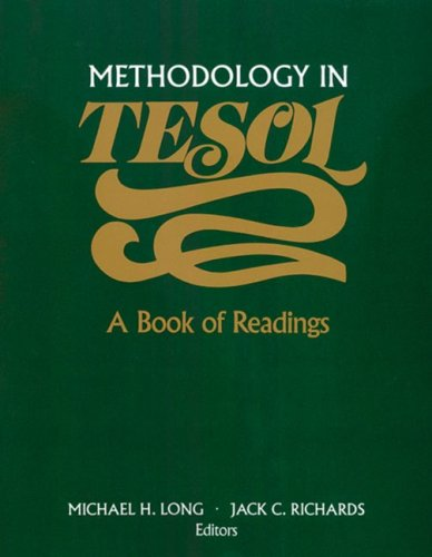 Methodology in TESOL: A Book of Readings