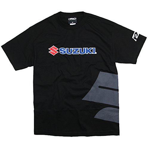 Factory Effex Suzuki Big 'S' T-Shirt (Black, Medium) (Suzuki Clothing compare prices)