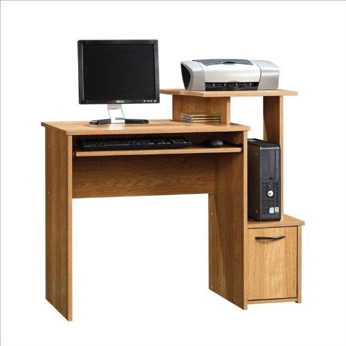 Sauder Beginnings Computer Desk In Highland Oak Finish
