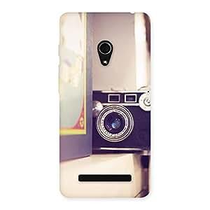 Ajay Enterprises Real Pastel Camera Back Case Cover for Zenfone 5