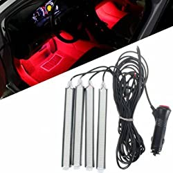 Car LED Atmostphere Strip Light COB Interior Lamp Underdash Decoration Lighting