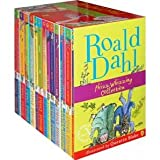 Roald Dahl Complete Collection Children 15 Books Set (Fantastic Mr Fox, The Witches, The Twits, James Giant Peach, Charlie Chocolate Factory, The BFG, Magic Finger, The Giraffe , Esio Trot, Boy Tales, Matilda ...) (Roald Dahl)by Roald Dahl