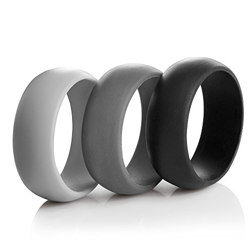 8.7mm 3-pack Silicone Rings (8)