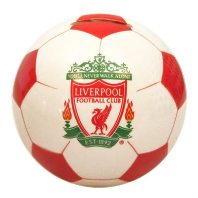 Liverpool FC Money Box – Football – Football Gifts
