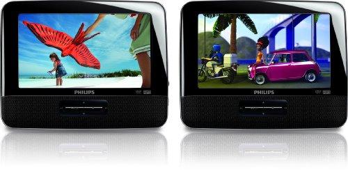 Imagen de Philips PD7016/37 7-pulgadas LCD portátil de doble reproductor de DVD