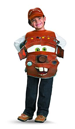 Tow Mater Deluxe Costume - One Size Child