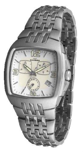 Sandoz 73503-00 - Reloj Col. Diver Unisex Acero dial blanco