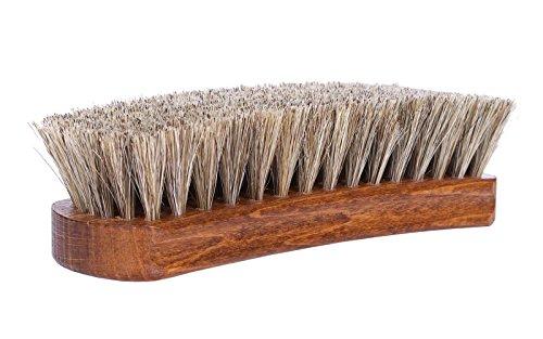 kaps-premium-qualitat-schuh-burste-lux-naturlichem-pferdehaar-glanz-buff-polish-mehrfarbig-15cm-lent