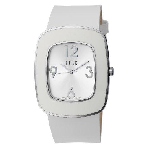 ELLETIME Women's EL20015S06C Steel White Enamel Watch