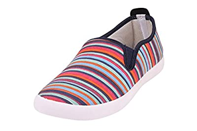 Globalite Women's Casual Shoes Lily Pink Strip GSC1152 UK/UN