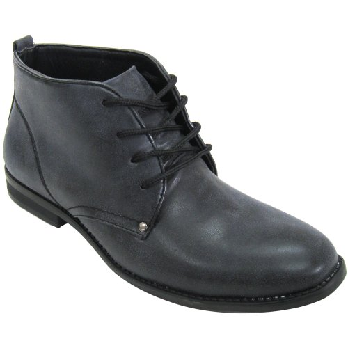 Norman Black Men's Vegan Ankle Boot