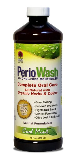 Nature's Answer Periowash Alcohol-free Mouthwash,