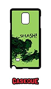 Caseque Hulk Smash! Back Shell Case Cover for Samsung Galaxy Note 4