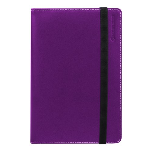 Marware Eco-Vue Leather Kindle Folio, Purple (Fits Kindle Keyboard)