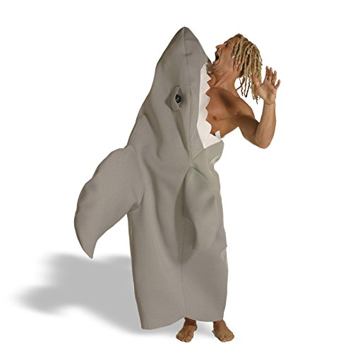 [Shark Attack New Style Costume - One Size - Chest Size 42-48] (Hungry Hippo Costumes)