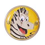 Vanras 'Zebra' Printed Clock