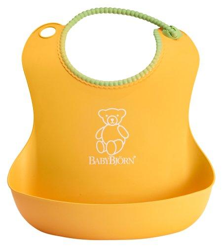 BABYBJÖRN Soft Bib - Yellow