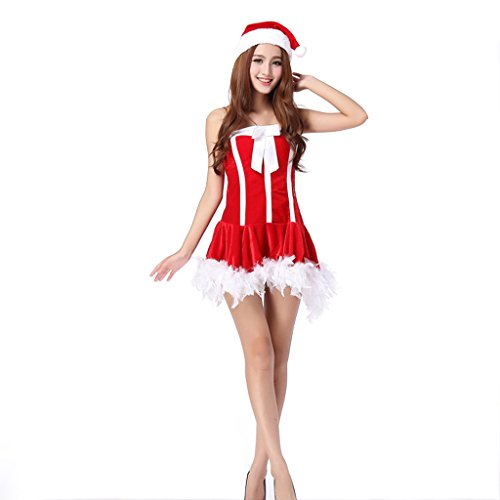 Cuterole Women's Sexy Christmas Costume Halloween Nurse Outfit