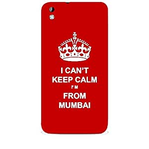 Skin4gadgets I CAN'T KEEP CALM I'm FROM MUMBAI - Colour - Red Phone Skin for HTC DESIRE 816 W