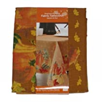 Engineer Pumpkin Fabric Tablecloth Autumn Harvest Table Cloth 60x102 Ob