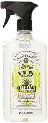 J.R. Watkins Window & Glass Cleaners, Aloe & Green Tea, 24-Ounce Bottles (Pack Of 6)
