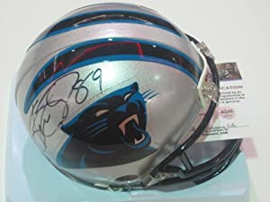 Steve Smith Carolina Panthers Signed Autographed Mini Helmet Authentic Certified COA