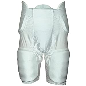 Buy Adams Adult Girdle with Sewn In High Rise Hip Pad-Pack of 5 by Adams USA