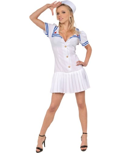 First Mate Sexy Sailor Theatre Costumes Navy Military