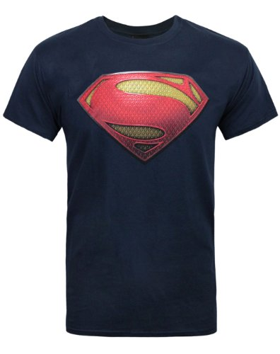 Official Superman Man of Steel Textured Men's T-Shirt