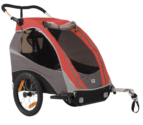Burley Solo Bike Trailer, Red