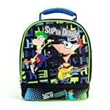 PHINEAS AND FERB DOUBLE COMPARTMENT LUNCH BOX