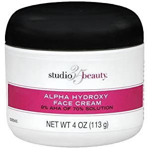 Studio 35 Beauty Face Cream with 8% Alpha Hydroxy Acid AHA 4oz