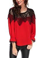 Elegancia Blusa Andie (Rojo)