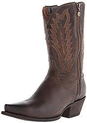 Dan Post Women s Trish Western Boot Brown 6.5 B(M) US