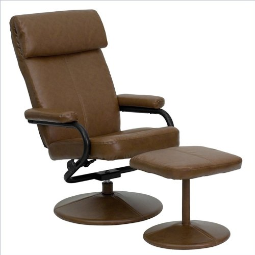 Swivel Recliner With Ottoman front-428311