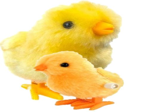 Hopping Easter Chick Wind-up Toy