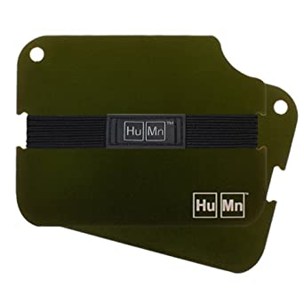 HuMn Mens Wallet 2 Olive-One Size