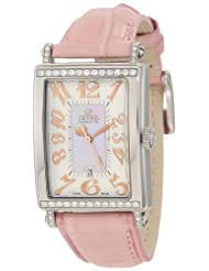 Gevril Women's 7248RT Avenue of Americas Pink Diamond Watch