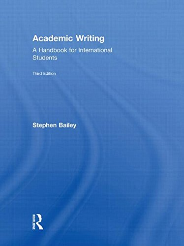 Academic Writing: A Practical Guide for Students - Stephen