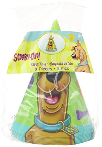 Scooby-Doo Where Are You! Cone Hats (8ct)