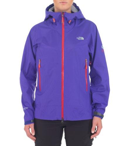 The North Face Women's Alpine Project Jacket 2013 aus ultraleichtem Gore-Tex® Active Shell, Farbe: Moody Blue (4P4), Größe: L