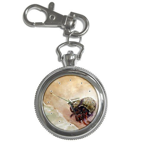 Limited Edition Violano Keychain Pocket Watch Hermit Crab Beach
