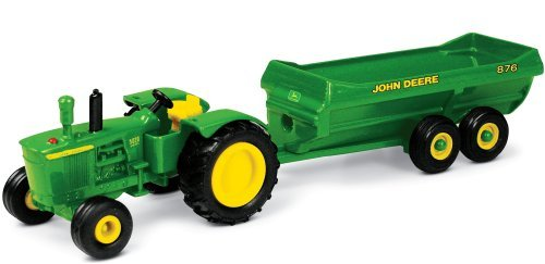 John Deere Tractor With Spreader