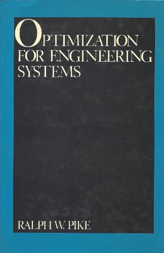 Optimization for Engineering Systems