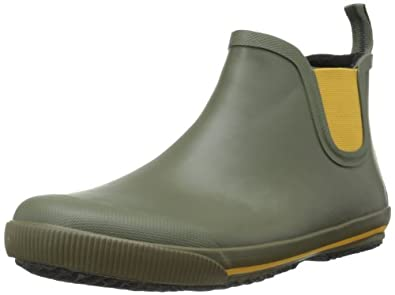 Tretorn Men's Strala Vinter Rain Boot,Grapeleaf/Sunflower,39 EU/7 D US