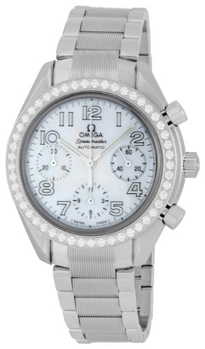 Omega Women's 3535.70.00 Speedmaster Diamond Bezel Watch
