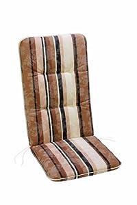 Best 05201017 coussin haut dossier pour fauteuil motif - Coussin fauteuil jardin haut dossier ...