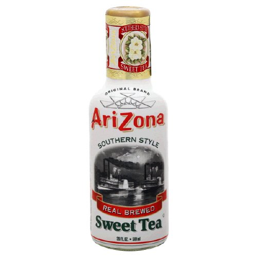 Arizona Southern Style Sweet Tea , 20 Fl. Oz, (Pack Of 6)