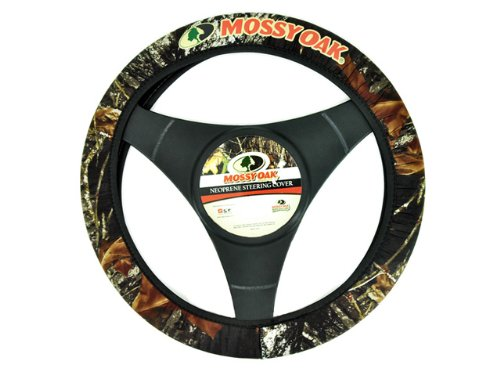 Neoprene Steering Wheel Cover - Mossy Oak Camouflage Camo