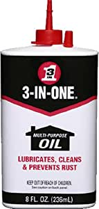3-IN-ONE 10038 Multi-Purpose Oil, 8 oz. (Pack of 1)